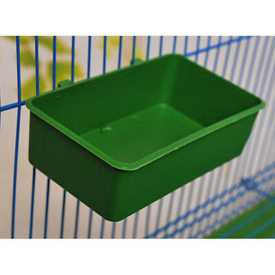 1pc Food Water Bowl Cups Bathing Bird Parrot Pigeons Cage Stand Feed Useful Hot