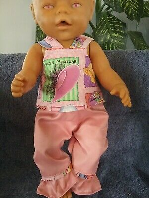Handmade Dolls Clothes To Fit Zaph Baby Born  Doll