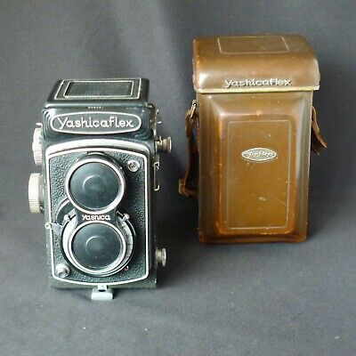 Yashica Yashicaflex TLR Camera with 80mm f/3.5 Lens, Very Nice,