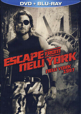 Escape From New York (Dvd+Blu-Ray) (Blu-Ray) (Bilingual) (Dc) (Blu-Ray)