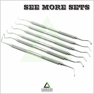 Dental Ball Burnisher Amalgam Restorative Composite Filling Instruments CE