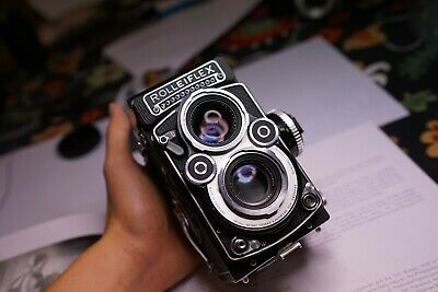 Rare Rolleiflex white face 3.5F just SERVICED