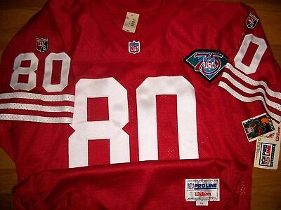 finest selection 00283 82db9 1994 SAN FRANCISCO 49ers Jerry Rice Authentic Jersey Sz 46 ...