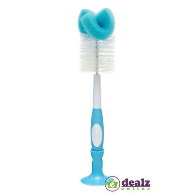 Dr.Brown's Options Baby Feeding Bottle Teat Bristle Sponge Brush