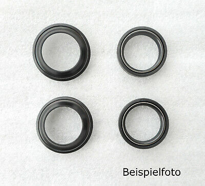 Gilera Saturno 350 500 fork oil seals dust caps gasket sockets set