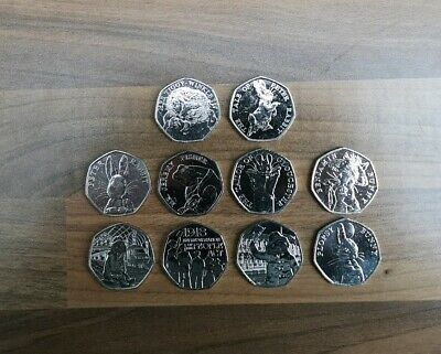50p Job Lot 10x Rare & Collectable 50p Coins includes 5x 2018 Releases