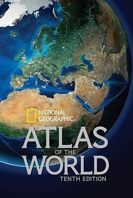 National Geographic Atlas Of The World, Tenth Edition(1426213549)