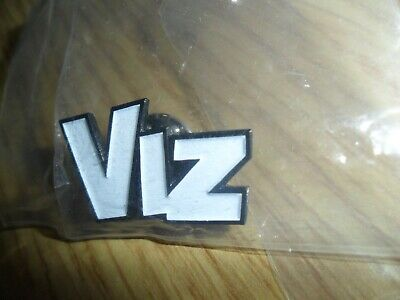 "Viz comic   ""Viz"" badge  (small)."