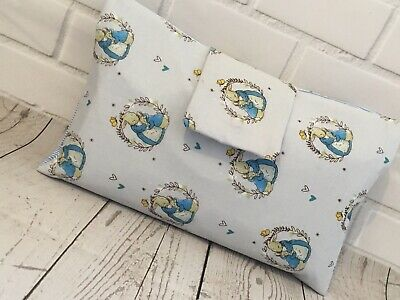 Peter Rabbit Handmade Nappy & Wipes Wallet Pouch - Please See Other Items