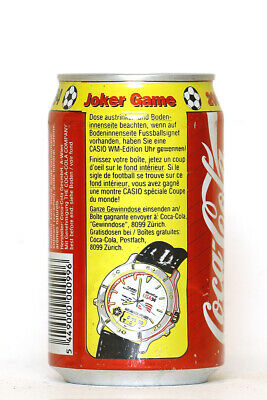 1994 Coca Cola can from Switzerland, World Cup USA 94 / Joker Game (2)