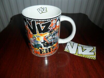 Viz comic   The EH? team  Mug    As new condition.