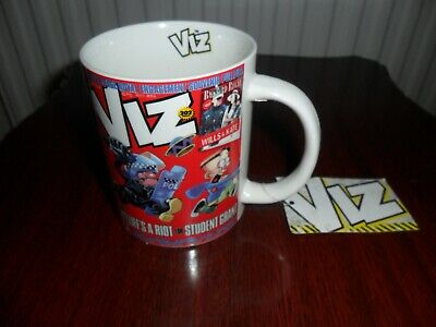 Viz comic   Student Grant   Mug   As new condition.