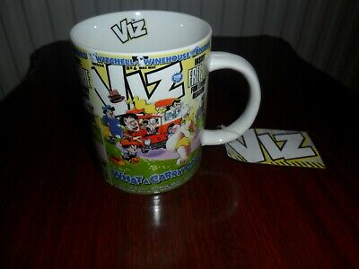 Viz comic   What a carry on  Mug   As new condition.