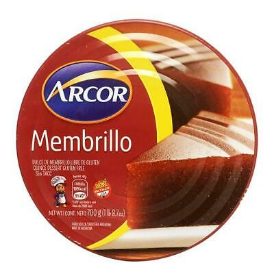 ARCOR Quince Paste / Membrillo - 700g Made in Argentina Gluten Free