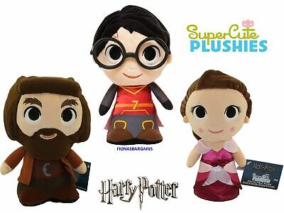 Funko Harry Potter SuperCute Plushies - Choose Harry, Hagrid, Hermione or All 3