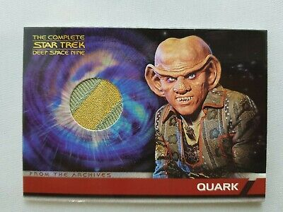 Star Trek Ds9 The Complete Costume Card Quark Cc1 Odds 1:100