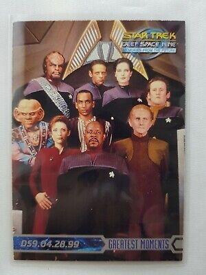 Star Trek DS9 Memories From The Future PROMO CARD