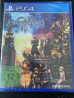 Kingdom Hearts 3 III - PS4 Playstation 4 Spiel - NEU OVP