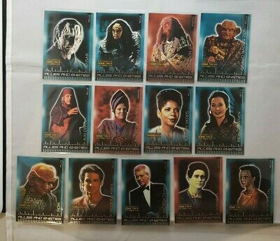 Star Trek Ds9 The Complete Allies And Enemies X13 Cards Odds 1:3
