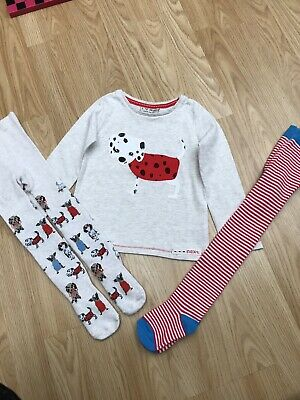 Girls Next Top & Tights Set, 18-24 Months, 1.5-2 Years & M&S Tights 1-2 Years 🐶
