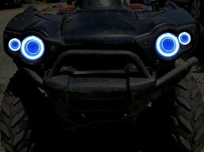 Led Halo rings for headlights Brute force BLUE 750 2012-2018