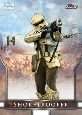 Topps Star Wars Card Trader FINEST 2019 ROGUE ONE Shoretrooper [DIGITAL]