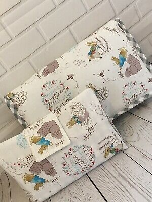 Peter Rabbit Nappy Changing Bag/travel Mat & Wipes/nappy Holder