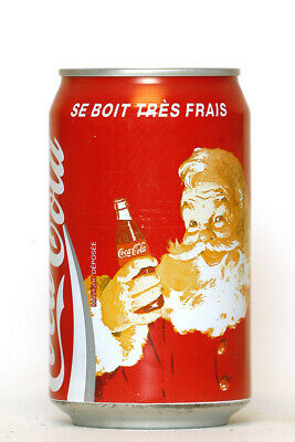 1994 Coca Cola can from France, Christmas