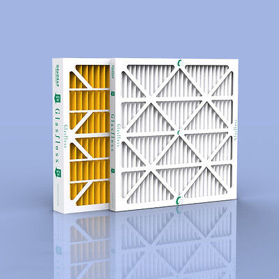 18x25x1 Pleated AC or Furnace Filters Merv 10 (17-1/2 x 24-1/2 x 7/8) Case of 12
