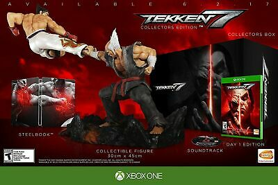 tekken 7 edition collector XBOX ONE neuf sous blister