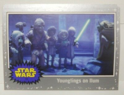 2017 Topps Voyage vers Star Wars The Last Jedi Argent Starfield Beaucoup de (8)