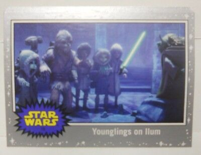 2017 Topps Viaje a Star Wars The Last Jedi Plata Starfield Lote de (8)