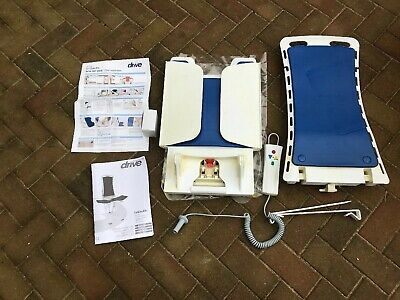 Bellavita Blue Classic Compact Portable Bath Seat / Lift bathing Aid Assistant