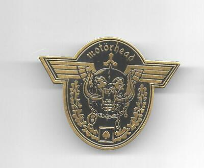 Metal Pin Badge MOTÖRHEAD Heavy Metal Kutte incl. 2 Pin Saver