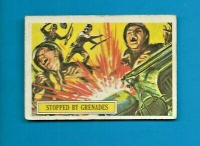 1965 A&bc (Not Topps) Battle Cards British  #25 Stopped By Grenades 1 On Ebay