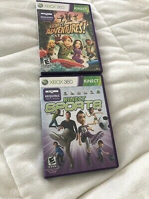 xbox 360 kinect games / Kinect Adventures And Kinect Sports