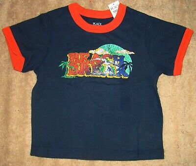 Boys Size 18 Months Childrens Place Short Sleeve T-Shirt Top Nwt