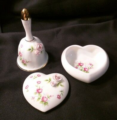 Towle fine bone china dish and Bell