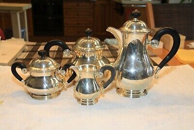 Antique Swiss made solid silver Tea and Coffee set (4 piece)