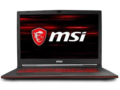 "MSI GL73 Laptop PC 17.3"" i7-8750H Quad 16GB 1TB 2GB GTX 1050 AC Backlit Key"