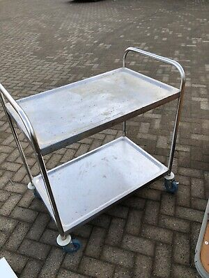 Commercial catering stainless steel trollley
