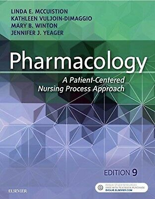 TESTBANK- Pharmacology A Patient-Centered Nursing Process Approach (McCuistion)
