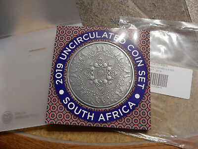 South Africa KMS  2019 Uncirculated Coinset original im Folder Süd Afrika