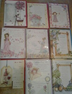60 Family Sentiments Cards, Wholesale Joblot Greeting Cards