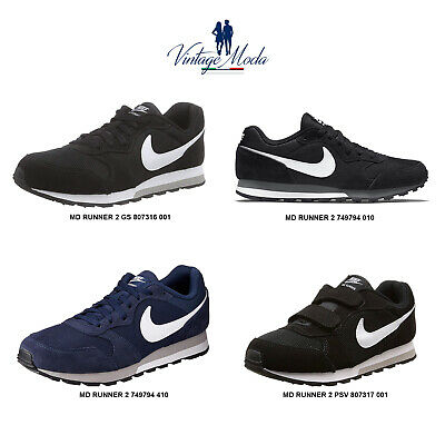 Nike Md Runner 2 Scarpa Uomo Donna Bambino Unisex Shoes Casual Sneakers