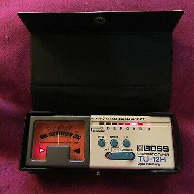 BOSS TU-12H Chromatic Tuner for electric and acoustic instruments