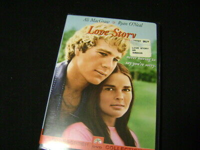 Love Story Ali MacGraw Ryan O'Neal NEW DVD Widescreen