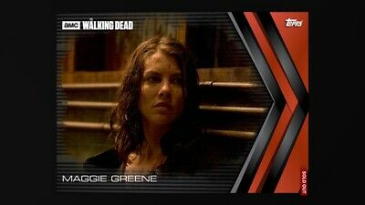 Topps Digital Card The Walking Dead MAGGIE GREENE Fortitude Red Award 6cc #14277