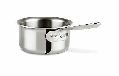 All-Clad 42006 Stainless Steel Tri-Ply Bonded Butter Warmer  .5-qt