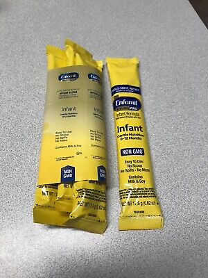 Enfamil NeuroPro 4 Ready To Use Single Serve  Formula 0-12 Mths Exp 9/19 Non Gmo